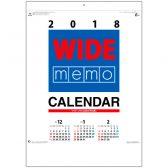 ワイドメモカレンダー(在庫僅少)
