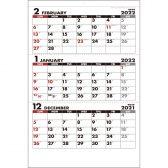 :シンプルジャンボカレンダー